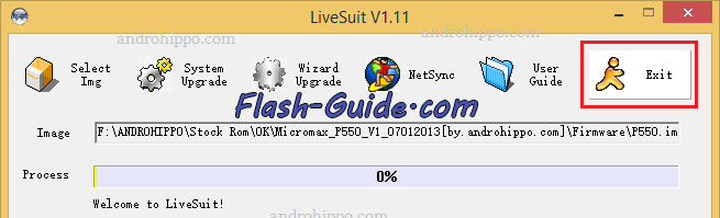 How to Flash Zen A100 Tab Stock ROM Firmware