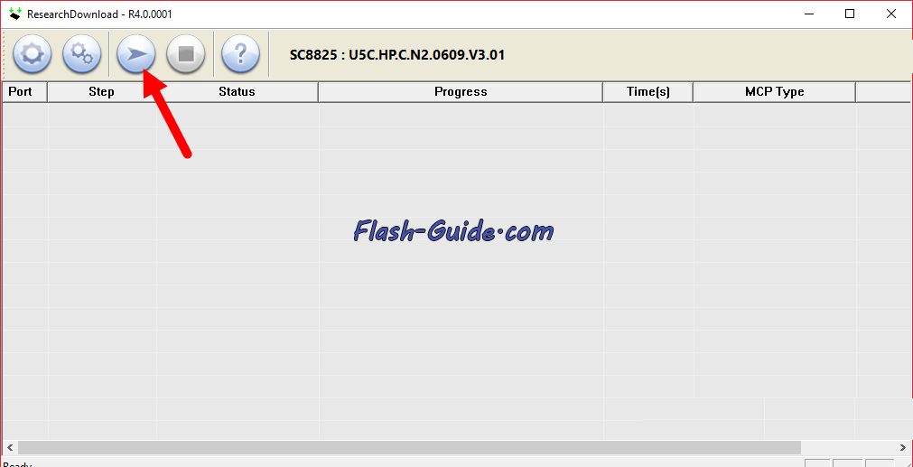 How to Flash Rage Rapid X Stock ROM Firmware